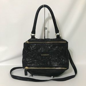 Authentic Givenchy Small Pepe Pandora Black